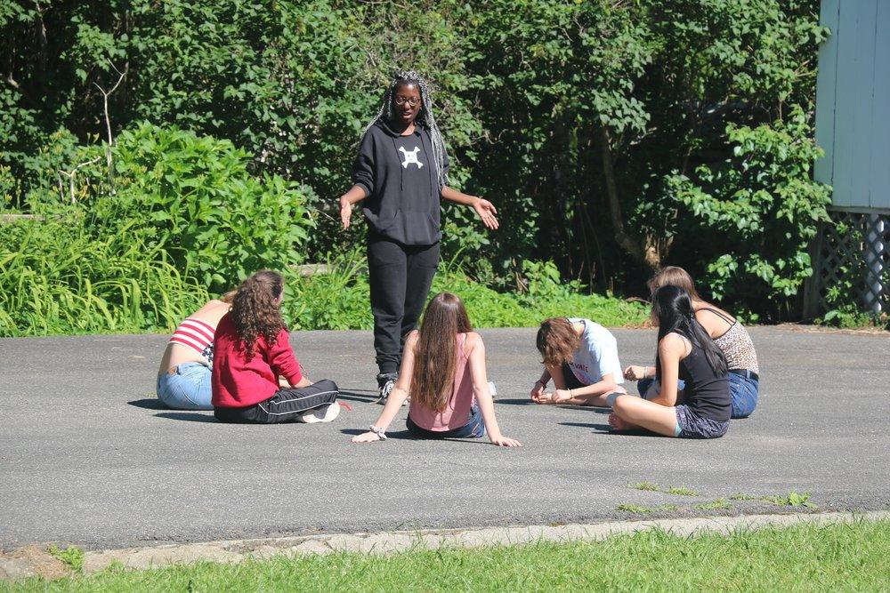 Playing circle games