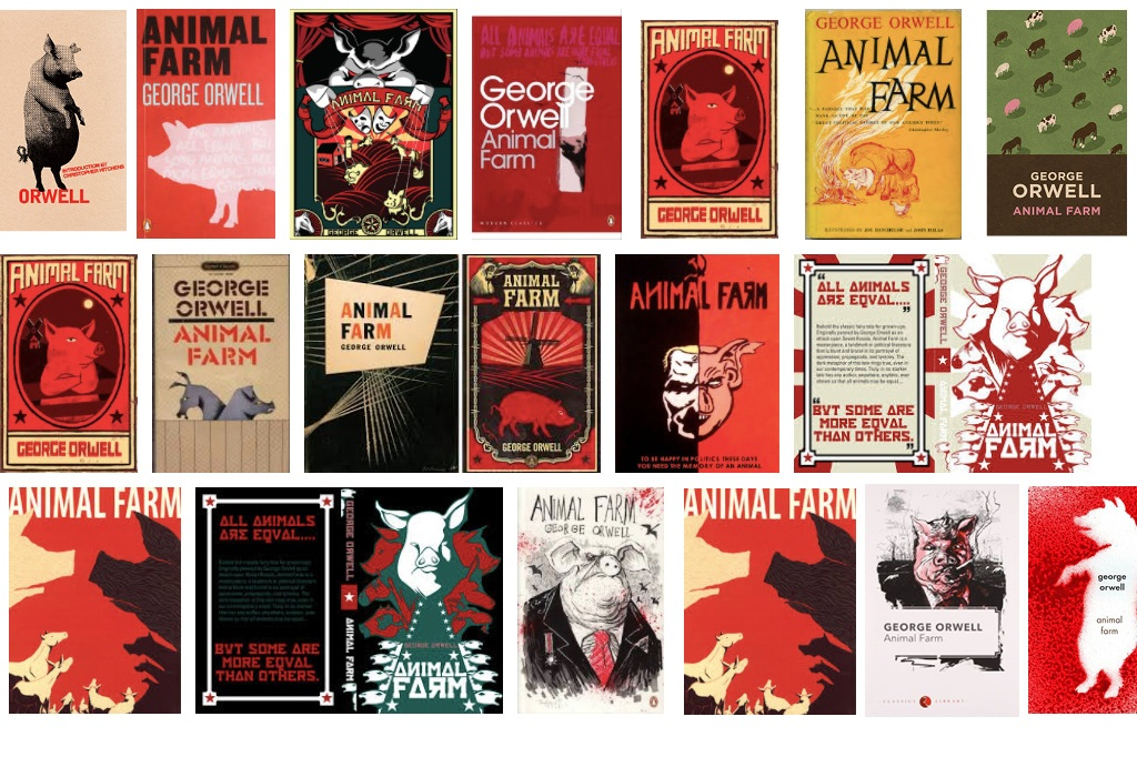 Animal Farm The Evolution Of The Dust Jacket Studiolo Secondari