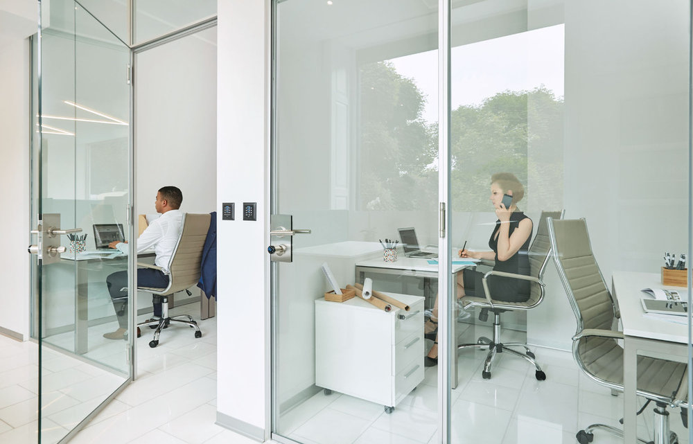 Private Office - Private, lockable offices can accommodate teams of any size. Move-in ready, with desks, chairs, filing cabinets and access to amenities.Great Fit For: Start Ups, Small Companies, Satellite and Established Teams