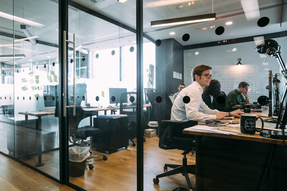 Office Suite - One or more private offices with access to dedicated shared work spaces and amenities.Great Fit For: Team of 5+, Large Satellite Office, Regional HQ