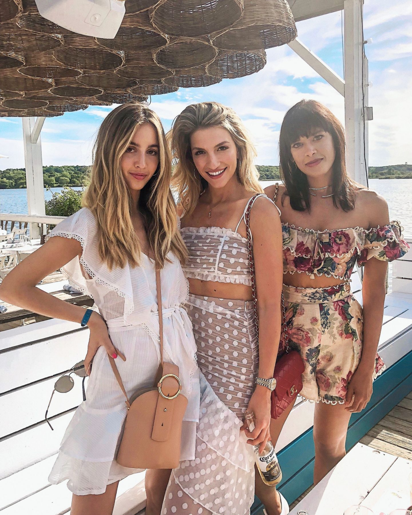 Cassandra DiMicco, Cass DiMicco, Dressed For Dreams, NYC, New York City, New York, Street Style NYC, Street Style 2018, NYC Street Style Street Style Outfits, 2018 Trends, NYC Fashion Blogger, NYC to do list, NYC to do, NYC bucket list, NYC Instagram Spots, the Hamptons, Montauk, surf lodge, Hamptons to do, majorelle Sawyer top, majorelle Heidi skirt, majorelle two piece set, red Chanel handbag