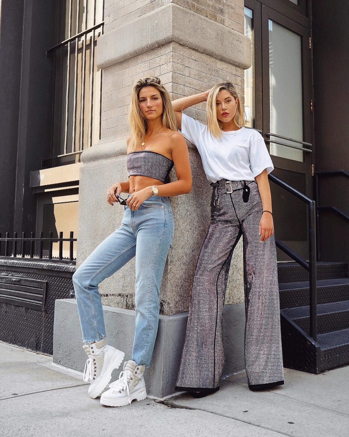 Cassandra DiMicco, Cass DiMicco, Dressed For Dreams, NYC, New York City, New York, Street Style NYC, Street Style 2018, NYC Street Style, NYC Outfit Inspo Street Style Outfits, 2018 Trends, Summer Style, Summer Outfit Inspo, NYC Fashion Blogger, NYC Fashion Blogger, NYC to do list, NYC to do, NYC bucket list, NYC Instagram Spots, Jourdan Sloane, TopShop, Zara, I.Am.Gia, I am Gia, Outfit Goals, Biker boots, unfinished hem jeans, aurora bandeau, aurora pants, I am gia aurora bandeau, I gia aurora pants