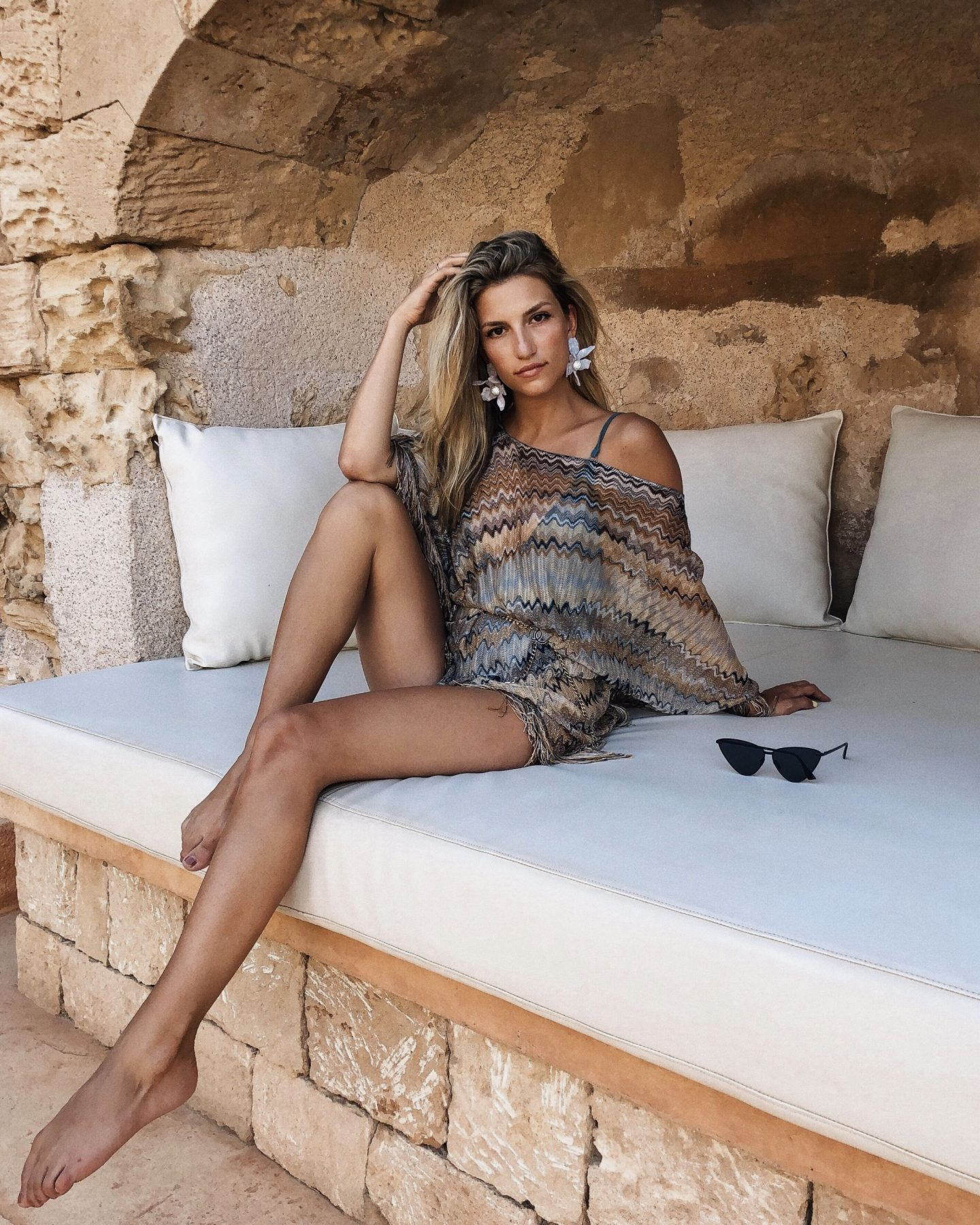 Cassandra DiMicco, Cass DiMicco, Dressed For Dreams, NYC, New York City, New York, Street Style NYC, Street Style 2018, NYC Street Style Street Style Outfits, 2018 Trends, Summer Style, Summer Outfit Inspo, Europe Outfit Inspo, NYC Fashion BloggerCassandra DiMicco, Cass DiMicco, Dressed For Dreams, NYC, New York City, New York, Street Style NYC, Street Style 2018, NYC Street Style Street Style Outfits, 2018 Trends, Summer Style, Summer Outfit Inspo, Europe Outfit Inspo, NYC Fashion Blogger, Lele Sadoughi Crystal Lily Earrings, Lele Sadoughi, Missoni Poncho, Missoni, Le Specs, Le Specs Echo Butterfly, Chanel Chain Belt, Mallorca, Mallorca Spain, Mallorca Outfit Inspo, Mallorca Inspo, Mallorca Vacation