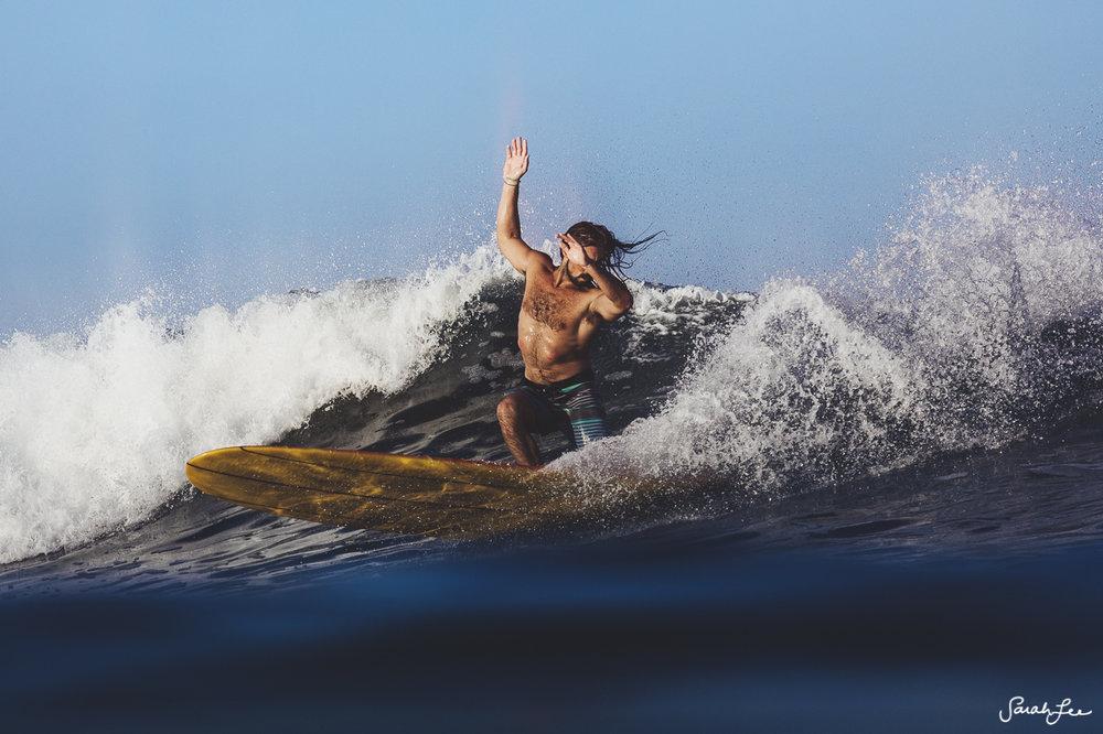 John Angiulo at Mexi Log Fest 2018 · Longboard Surfing Festival Mexico