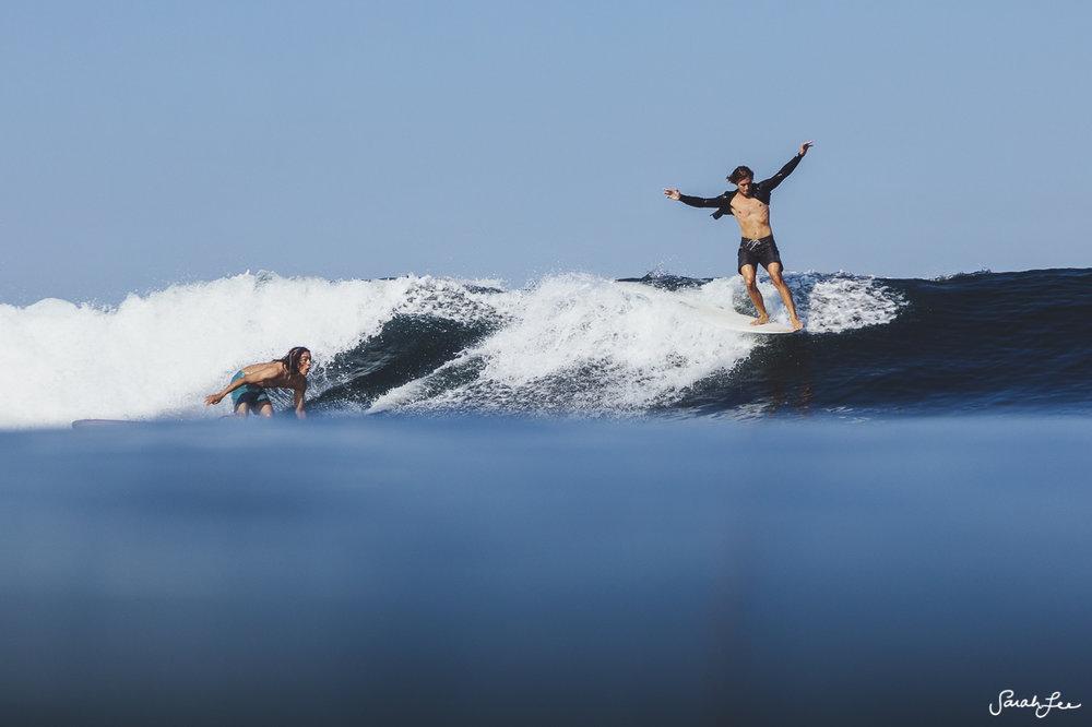 Saxon Wilson at Mexi Log Fest 2018 · Longboard Surfing Festival Mexico