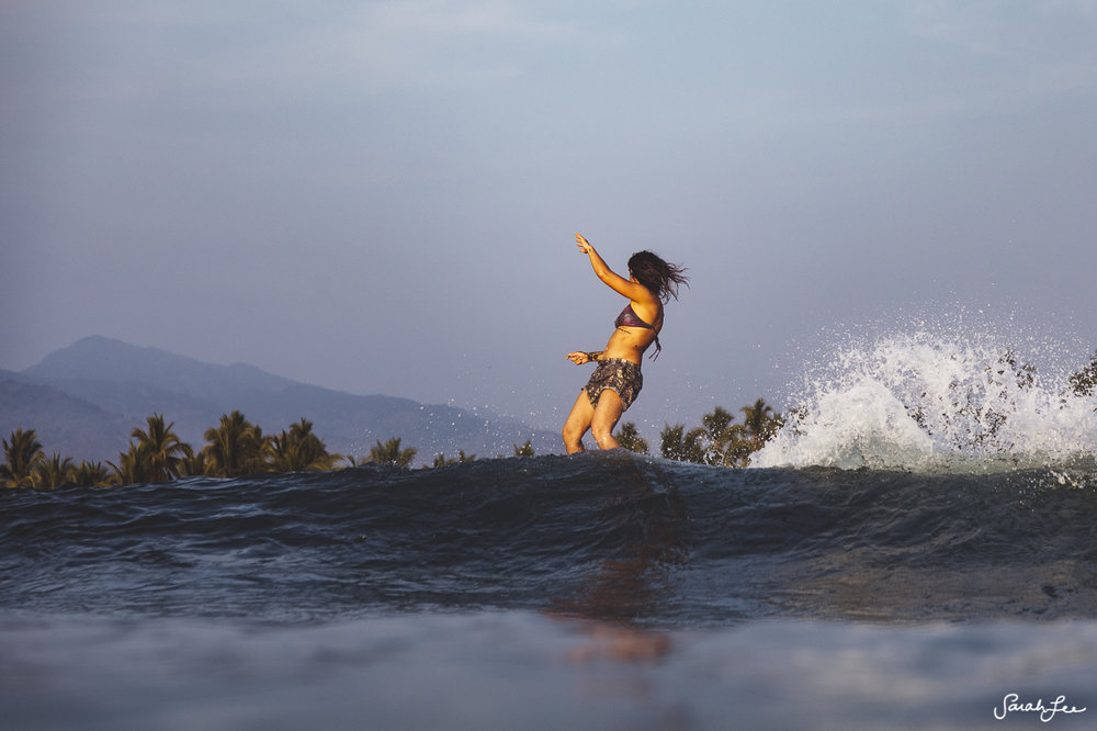 Kassia Meador at Mexi Log Fest 2018 · Longboard Surfing Festival Mexico