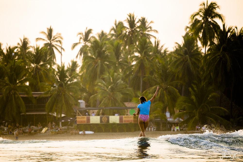 Makala Smith at Mexi Log Fest 2018 · Longboard Surfing Festival Mexico