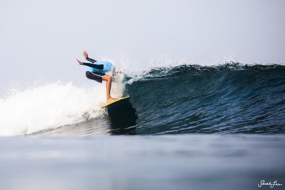 Andy Nieblas at Mexi Log Fest 2018 · Longboard Surfing Festival Mexico