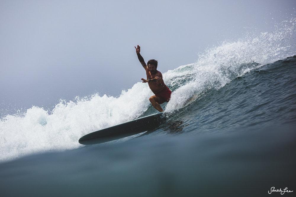 CJ Nelson at Mexi Log Fest 2018 · Longboard Surfing Festival Mexico