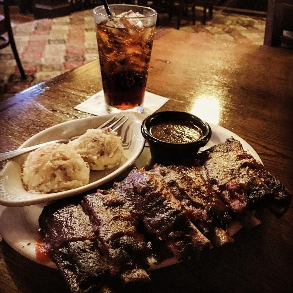 Rib dinner I had in Ft. Worth TX about a year ago.