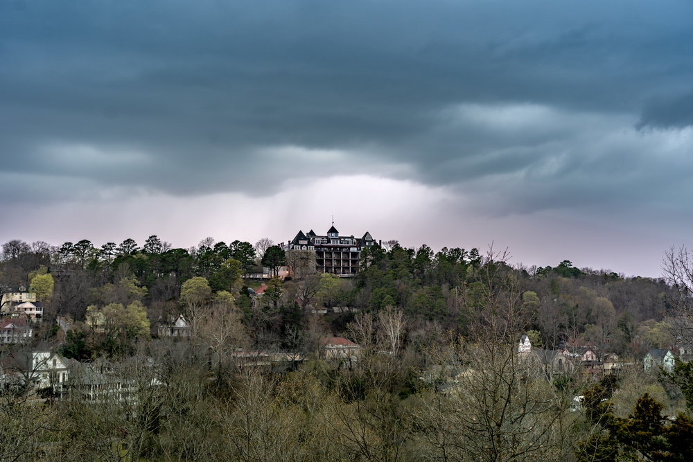 The Crescent Hotel, Eureka Springs Arkansas. Some say it's haunted…