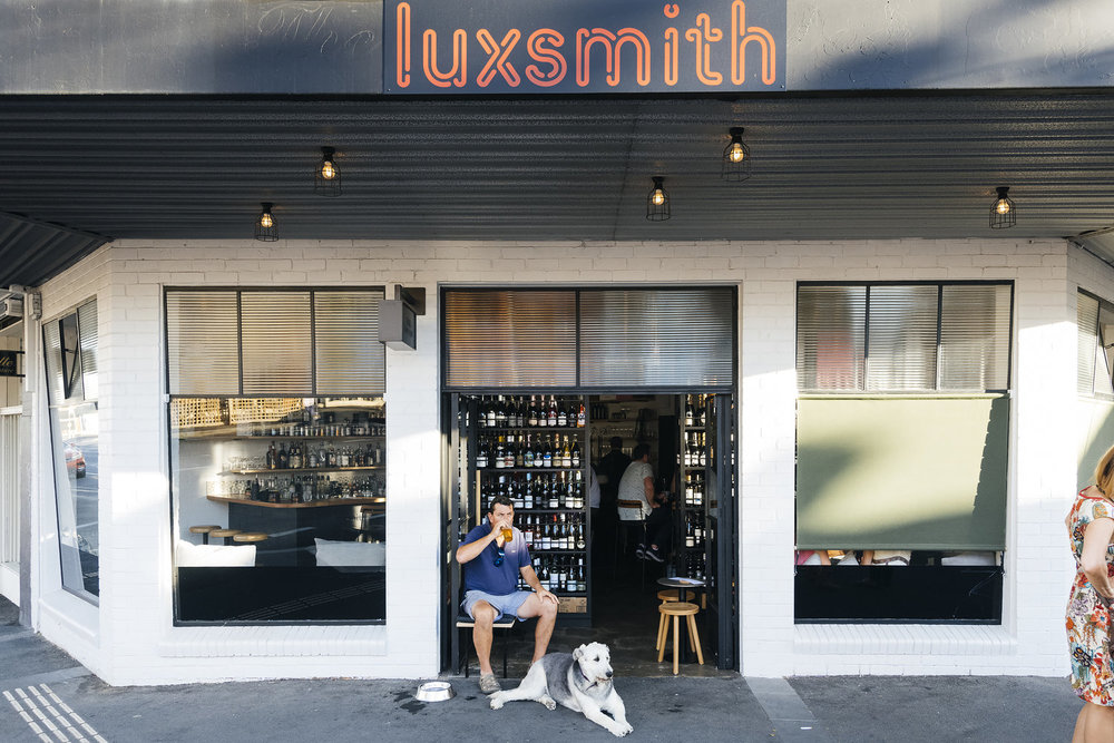 A relaxing beverage with you best mate or night out with the gals, Luxsmith bar & wine store is the perfect    spot