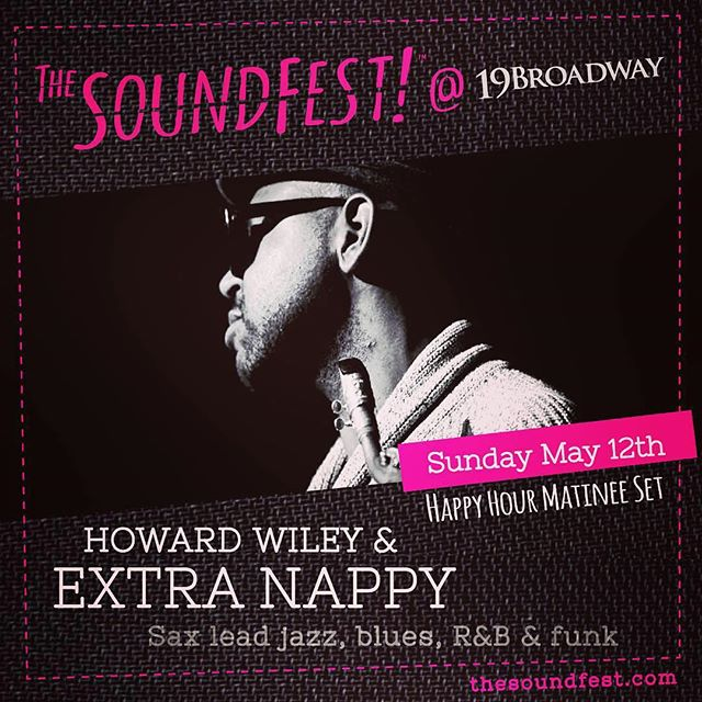 Super Soul Sunday is on May 12th during The SoundFest! Get tix for 1 & 3 day passes, link in bio. . @wilblades @scottamendola  @attakidmusic  @howard.wiley @extranappy  @19_broadway