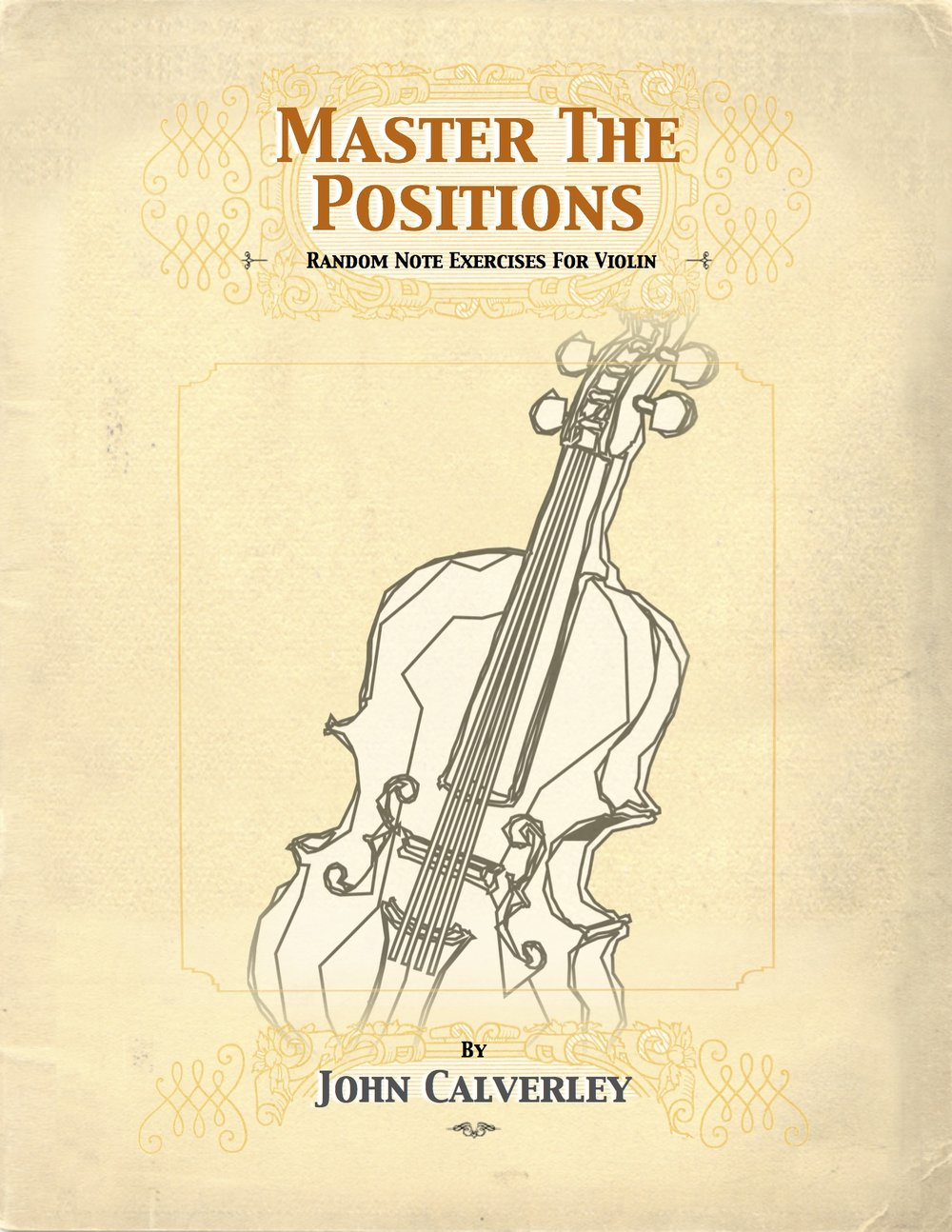 Master the Positions - A collection of exercises designed to challenge you in positions 1 through 8 using the natural notes.Most of us rely on identifying the interval between notes to find our way through music in higher positions. Violinist will at times sacrifice an easier fingering, favoring instead a position that is more comfortable to read. Because these are random notes as opposed to melodies, you will be encouraged to memorize the individual notes in each position and rely less on interval recognition. Price: $15