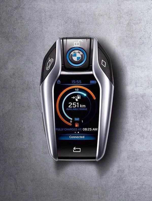 BMW i8 key… no further wishes