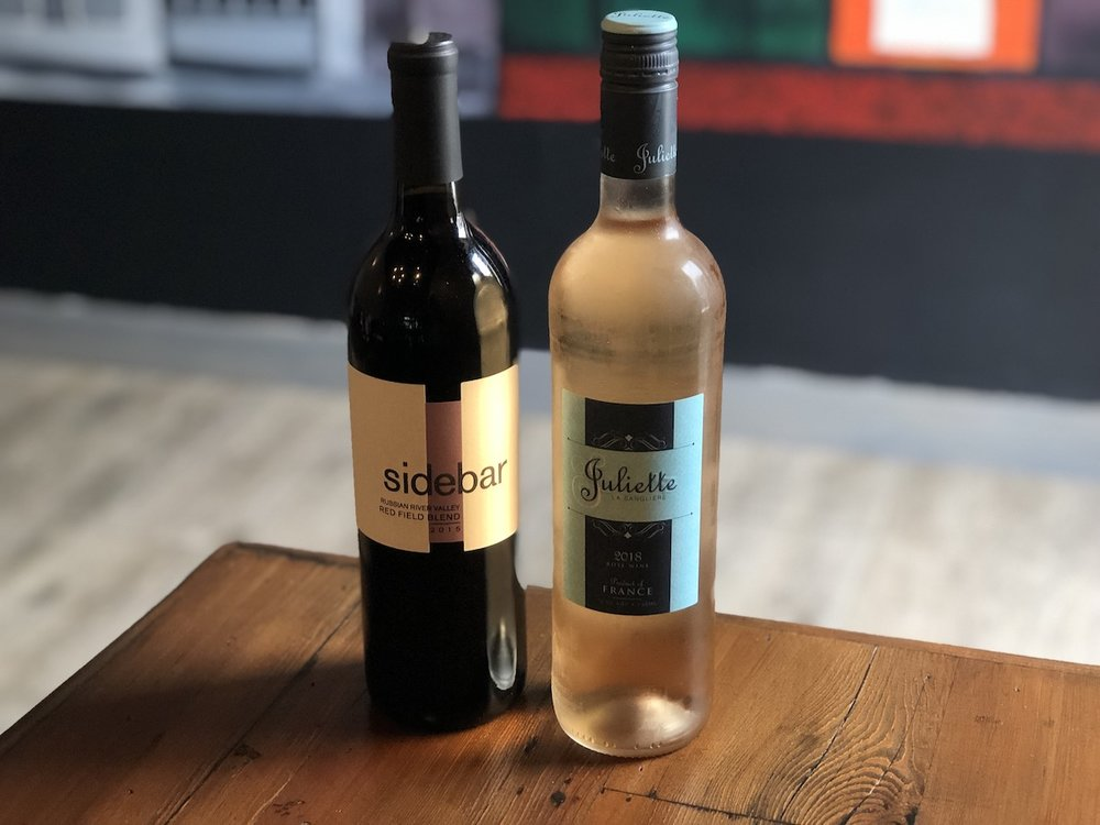 Zinfindel and Rosé are perfect with BBQ…