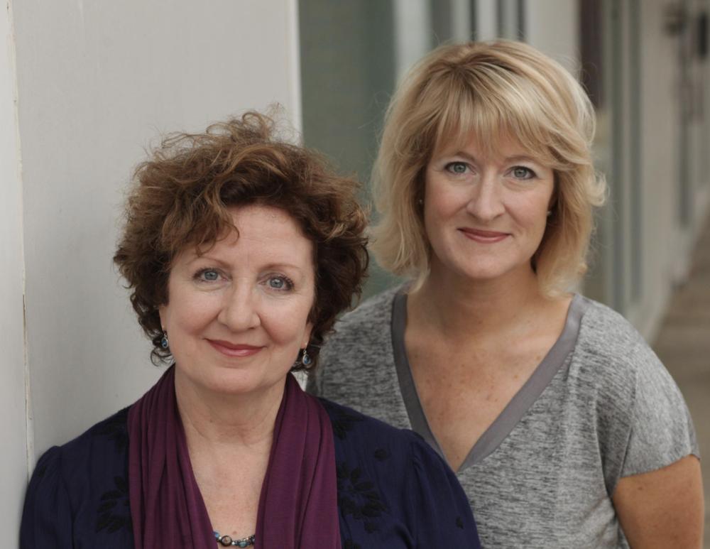 Mitzi Corrigan and Paige Johnston