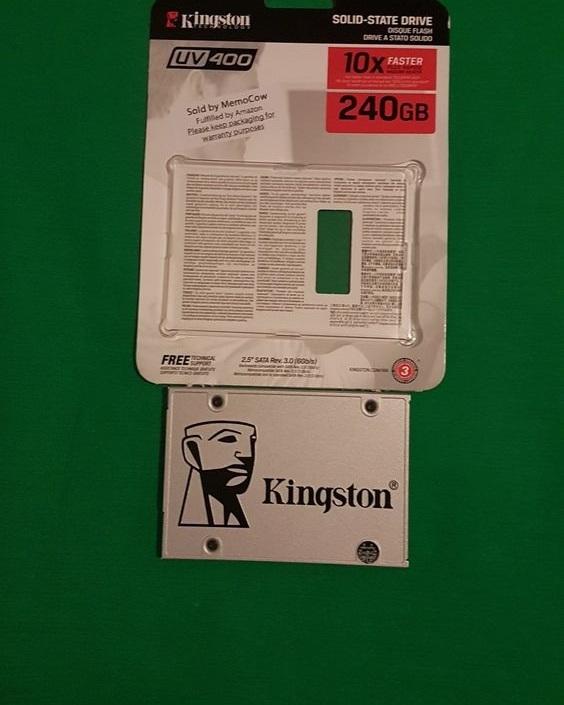 Kingston memory SSD