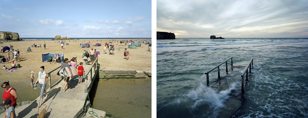 Perranporth, Cornwall. 29th and 30th August. Low Water 12 Noon, High Water 8pm