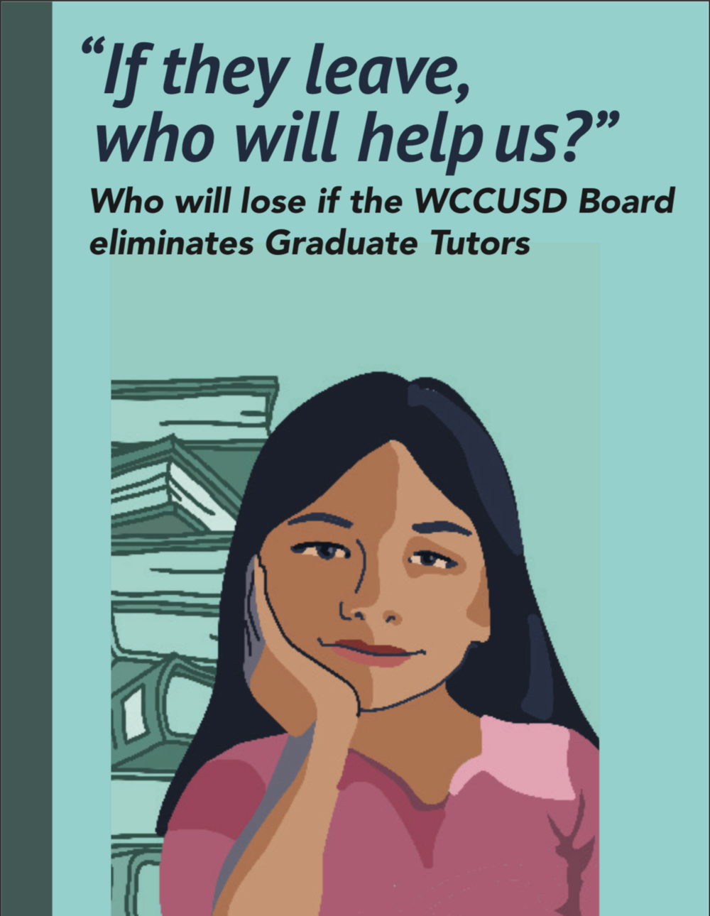 read the report - Graduate tutor stories — read about the impact graduate tutors make in and out on student achievement in and out of the classroom.Letters of support — read letters, many of which are from English learners and Newcomer students who have relied on the extra support graduate tutors provide as they transition into new classroom, in a new school, in a brand new country.