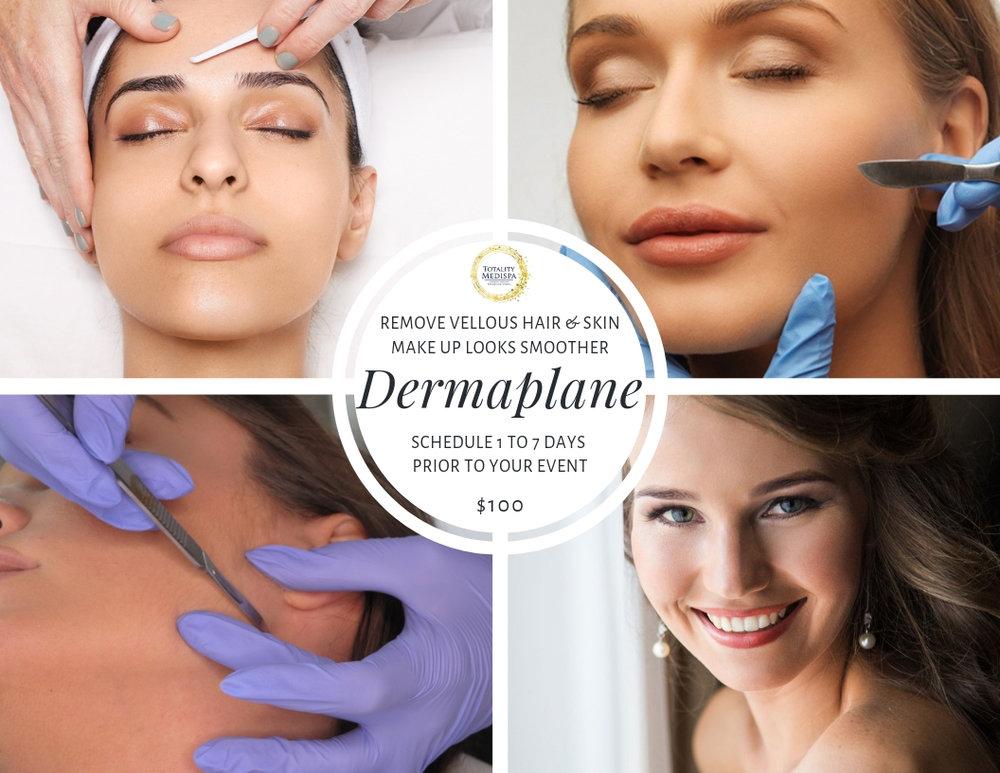Dermaplane - Dermplaning