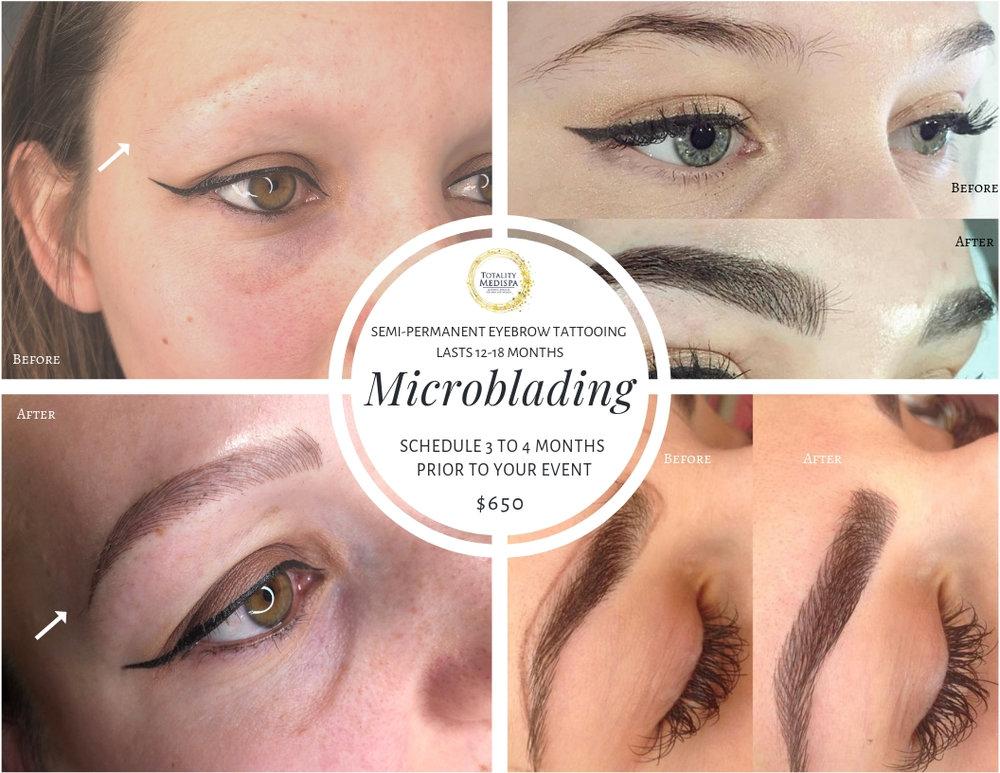 Microblading - Semi-Permanent Eyebrow Tattooing