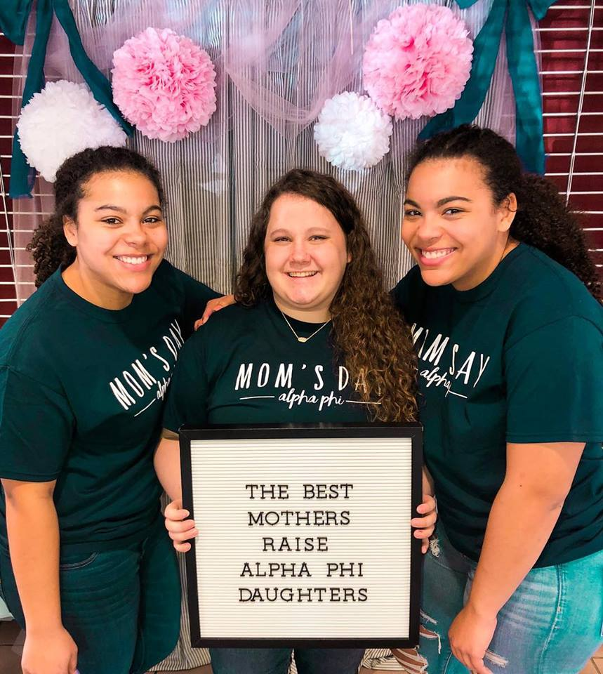 Ideals - The bond we share in Alpha Phi reflects in our High Ideals: Generosity, Innovation, Sisterhood, and Character. Through our motto,