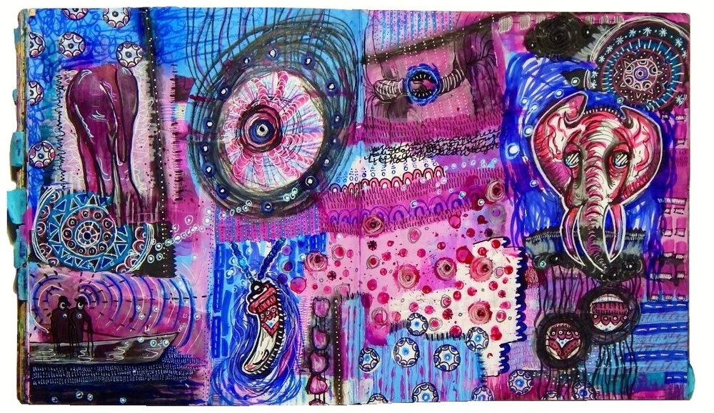 pink-elephant-art-journal-spread-made-by-emk-21.jpg