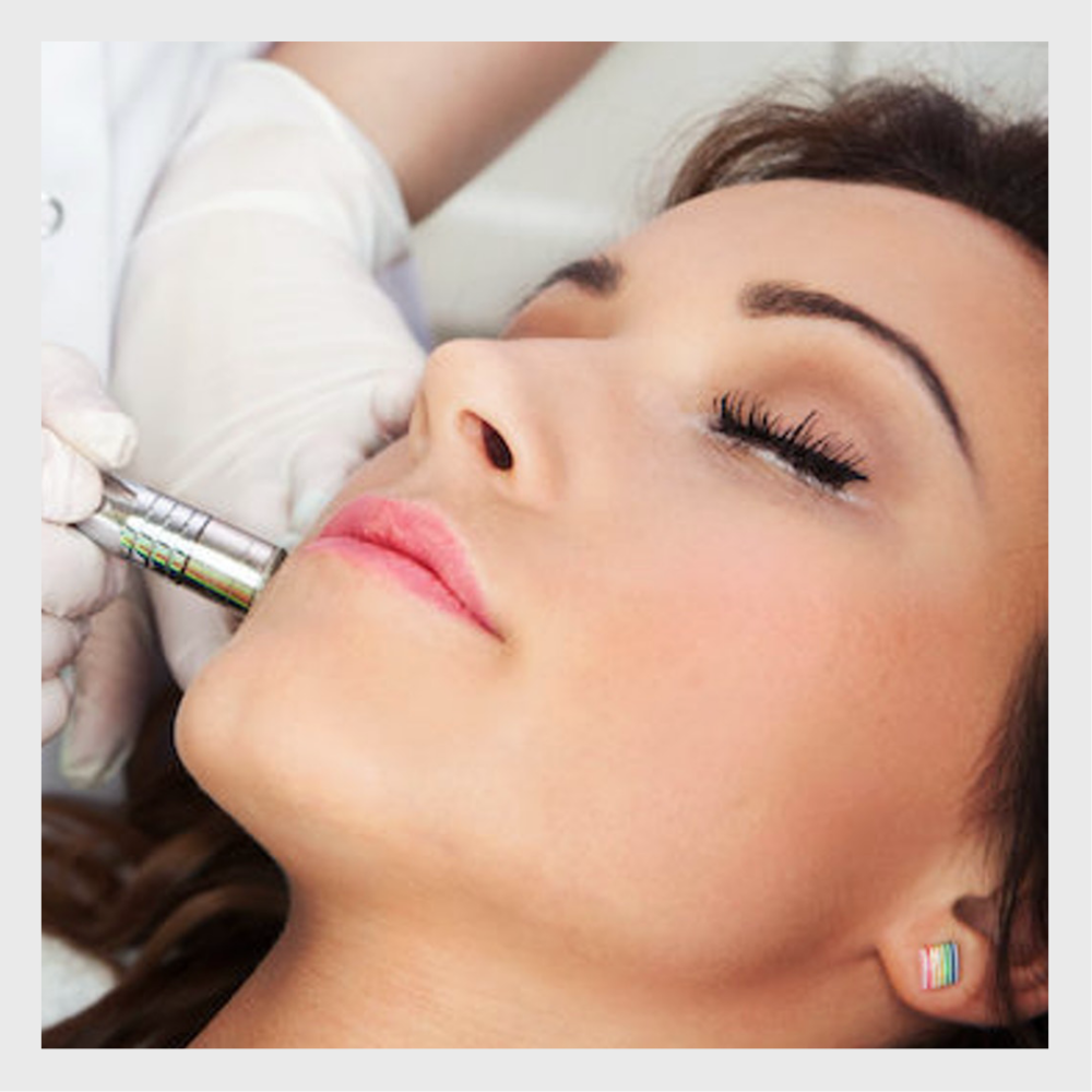 laser skin resurfacing - For aged skin, laser skin resurfacing treatments can remove years of damage in as little as one quick treatment. Patients who present acne scars, fine lines, wrinkles, irregular texture, and even sun-induced