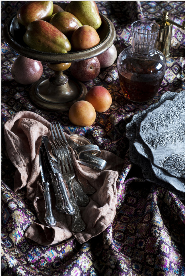 Home Beautiful - Tabriz silk wool -