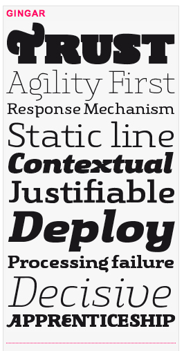 New Slab Font