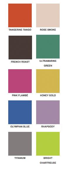 Pantone Color Trends Fall 2012