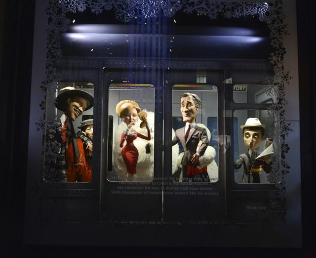 Saks Fifth Avenue Holiday Window 2013