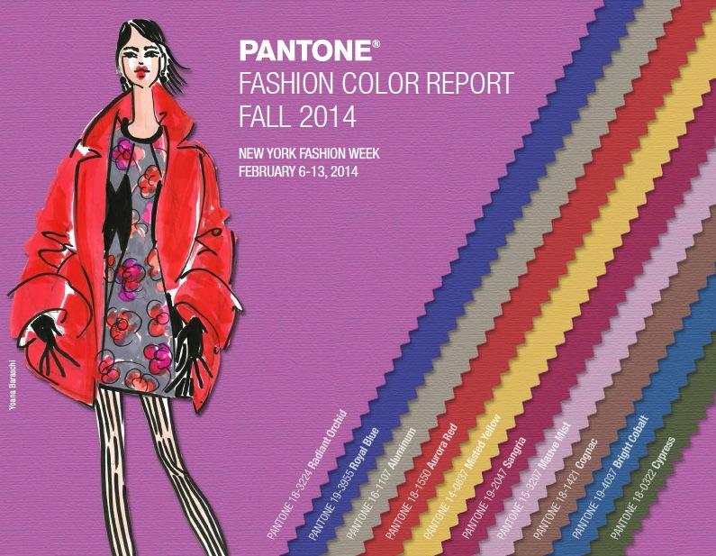 Pantone Fall 2014 Colors