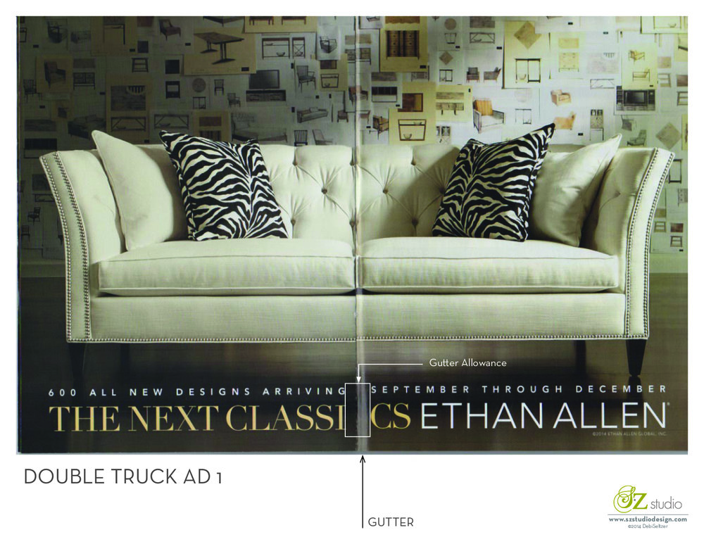 Double Truck Ad info