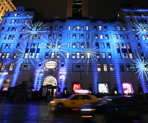 2014 Bergdorf Goodman Holiday Window Unveiling & UNICEF Snowflake Lighting