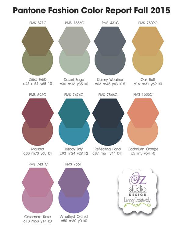 Pantone Fashion Color Fall 2015