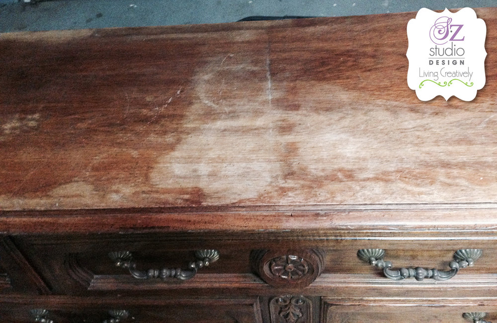 Dresser Top Damaged