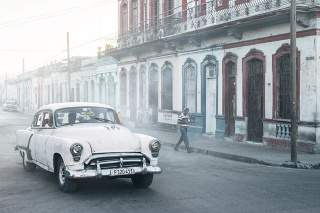 Morning stroll in Cienfugeos (Dec. 2015)  #takemagazine #cuba #travel #somewheretravel #swissphotographer