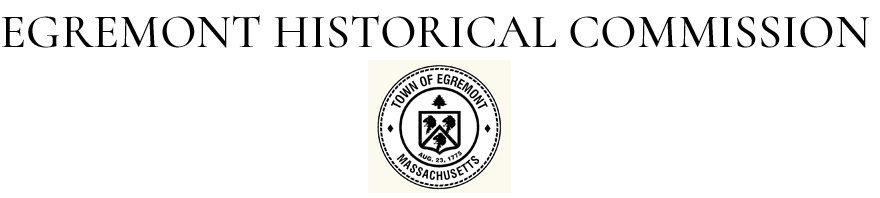 EGREMONT HISTORICAL COMMISSION