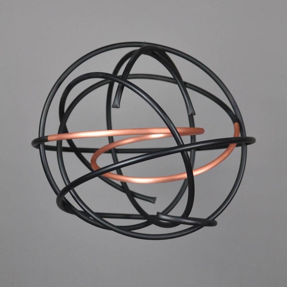 Copper in Black Orb