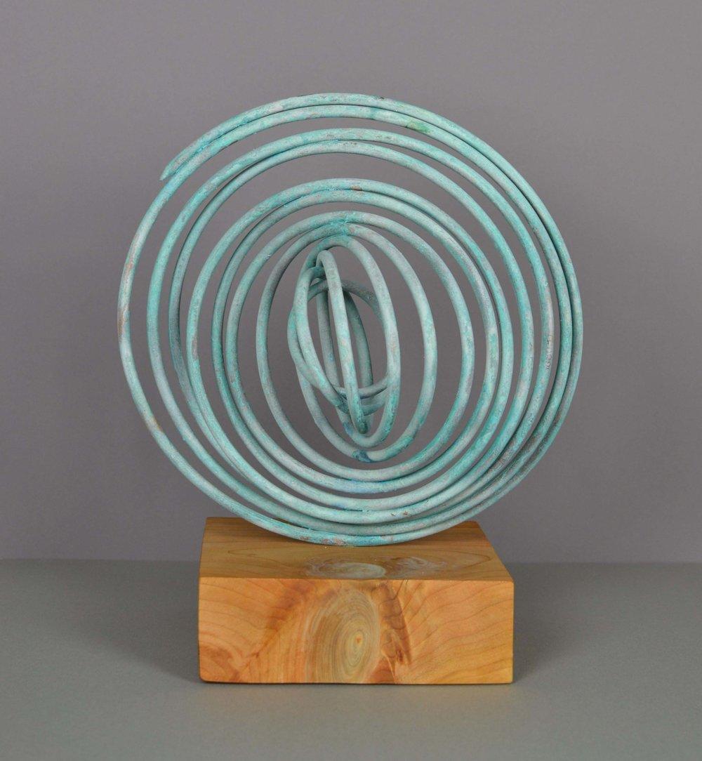 Verdigris Spiral