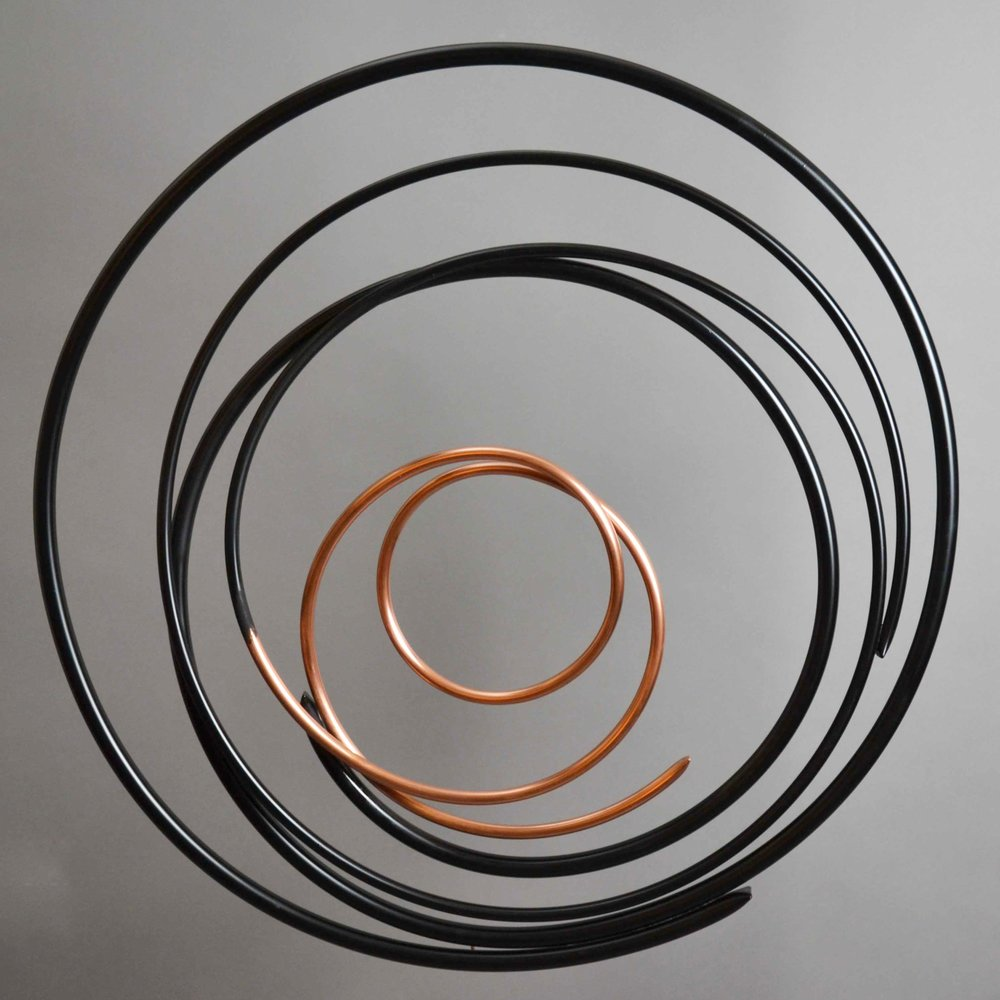 Copper in Black