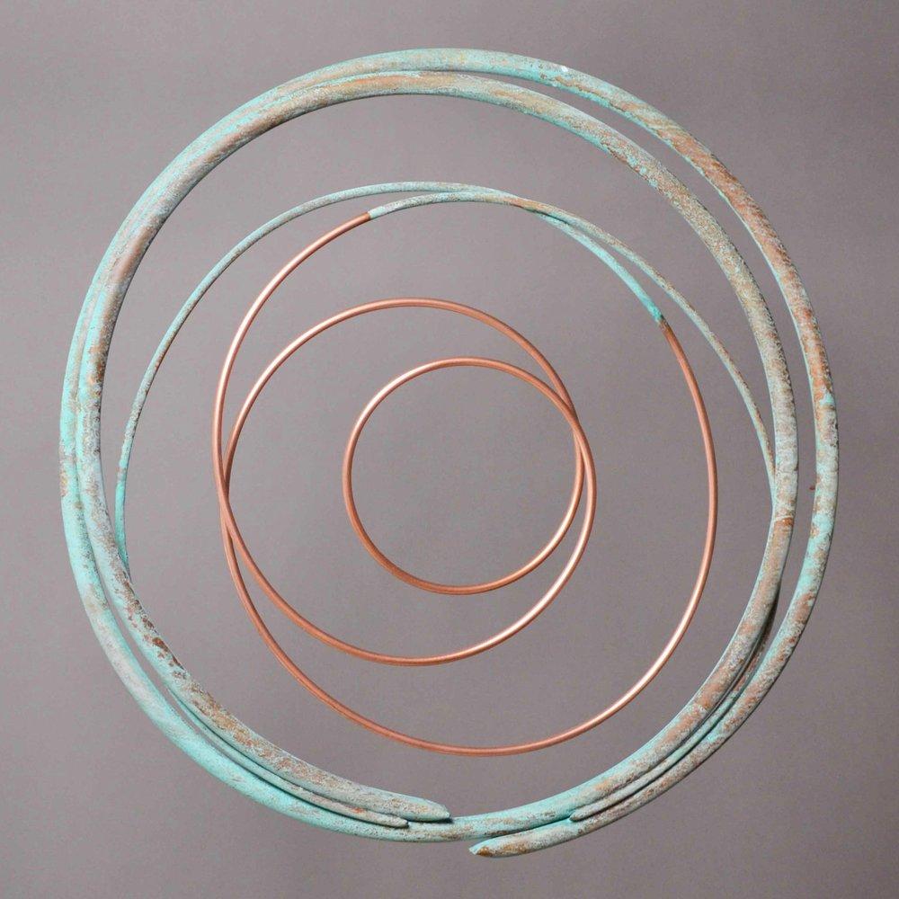 Copper in Verdigris