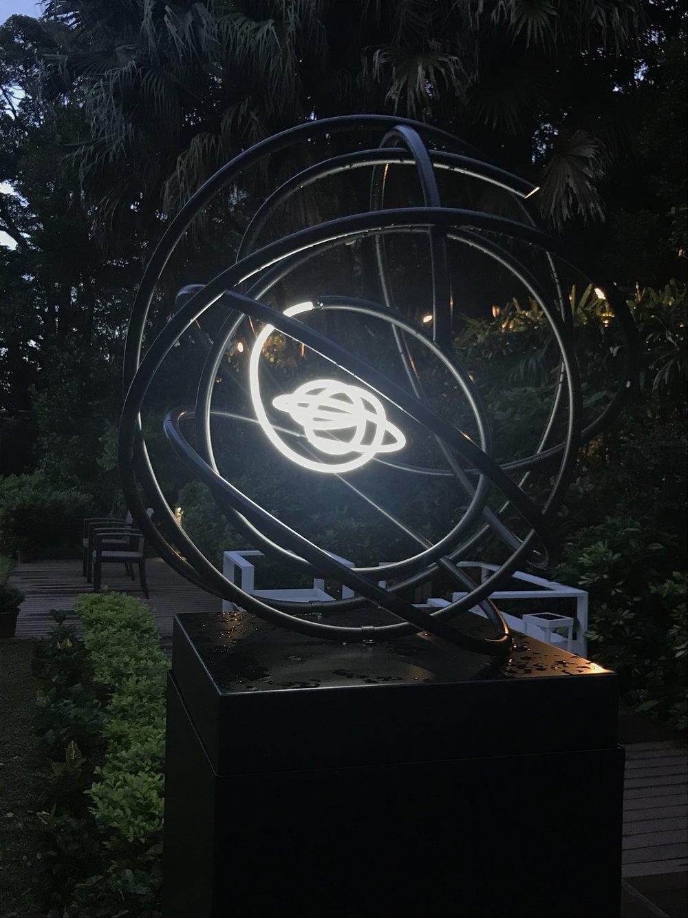 Neon Orb in Hong Kong