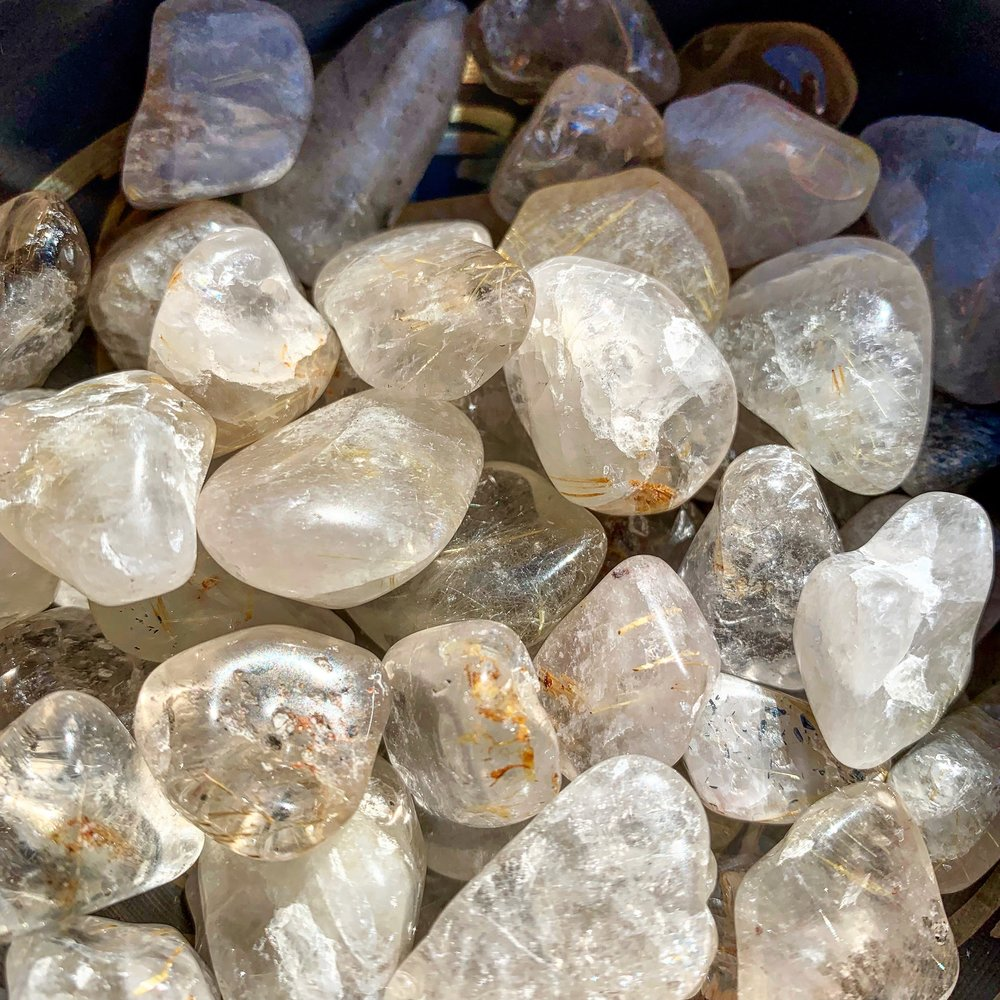 Rutilated Quartz - GEM OF THE MONTH • MARCH 2019