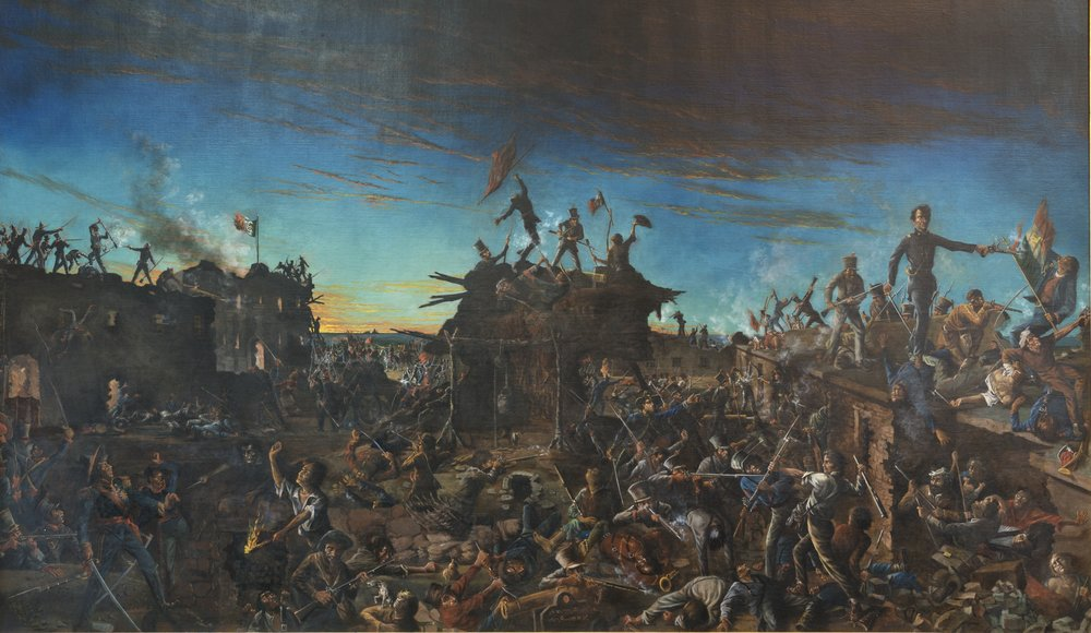 Dawn at the Alamo , Henry Arthur McArdle