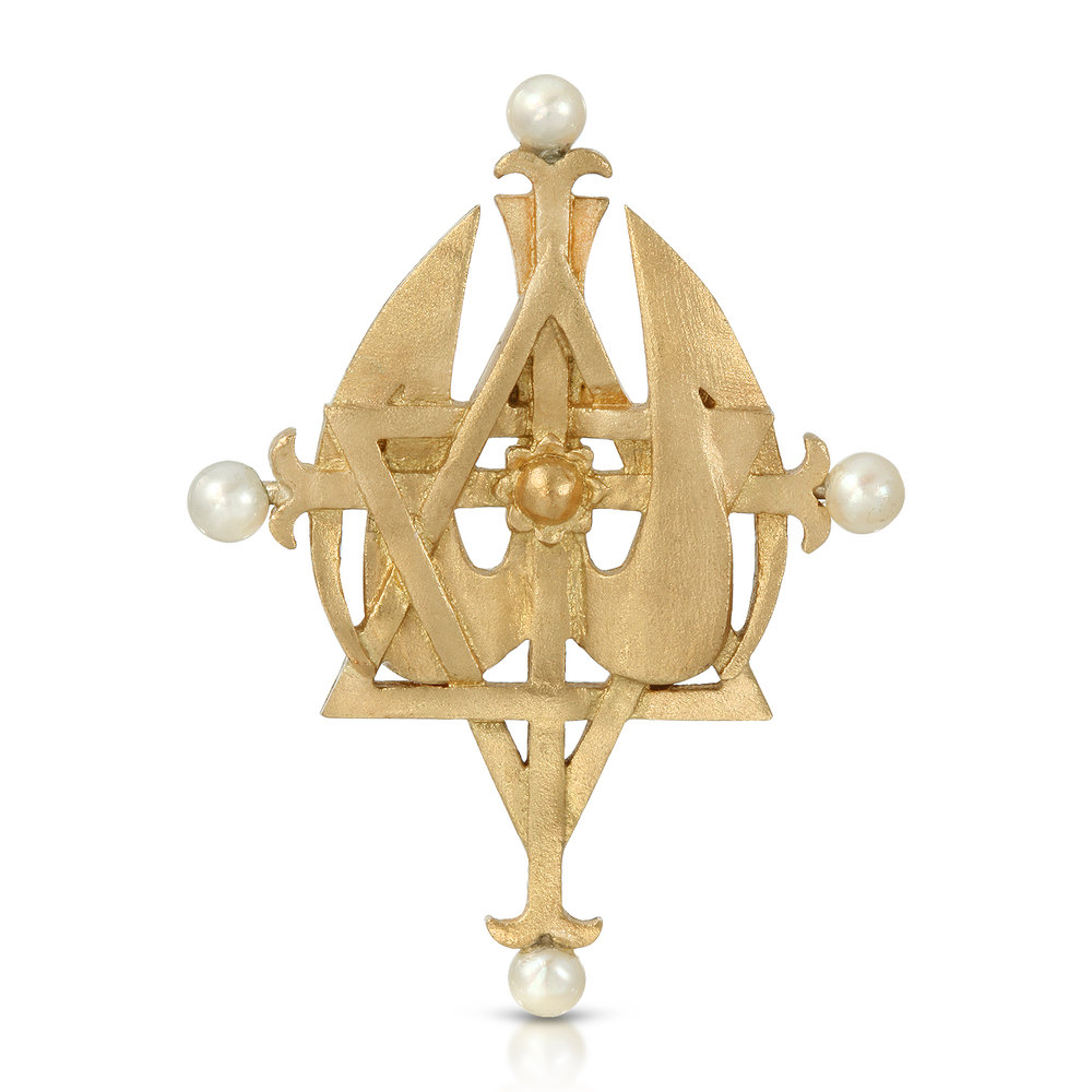 Small Yellow Gold w pearls on rondels.jpg