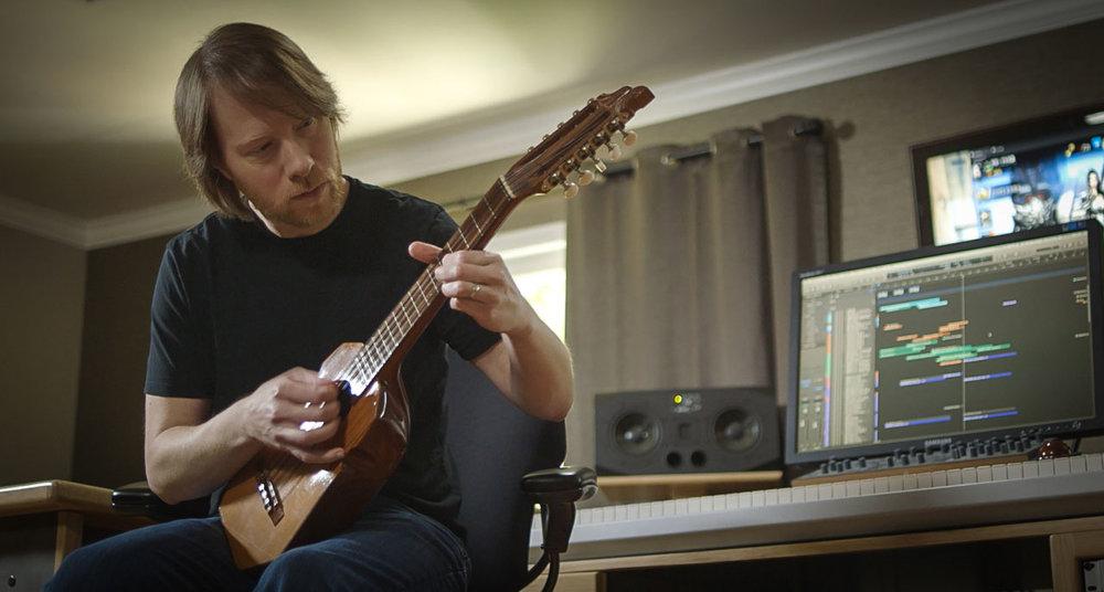 Bill in the studio - May 2015