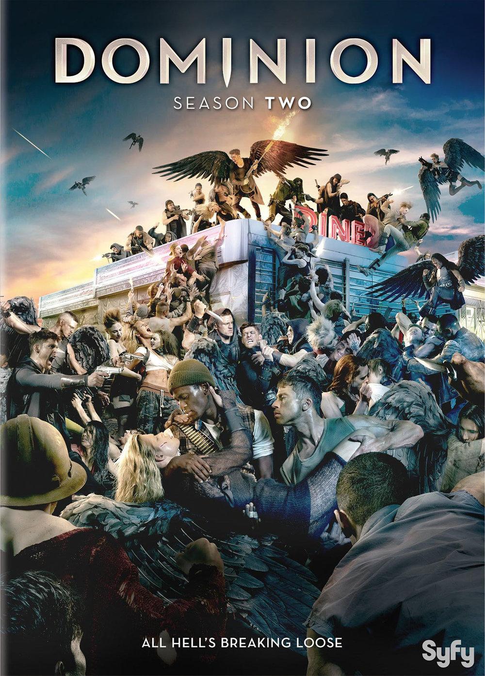 'Dominion' TV Series Season 2 DVD cover